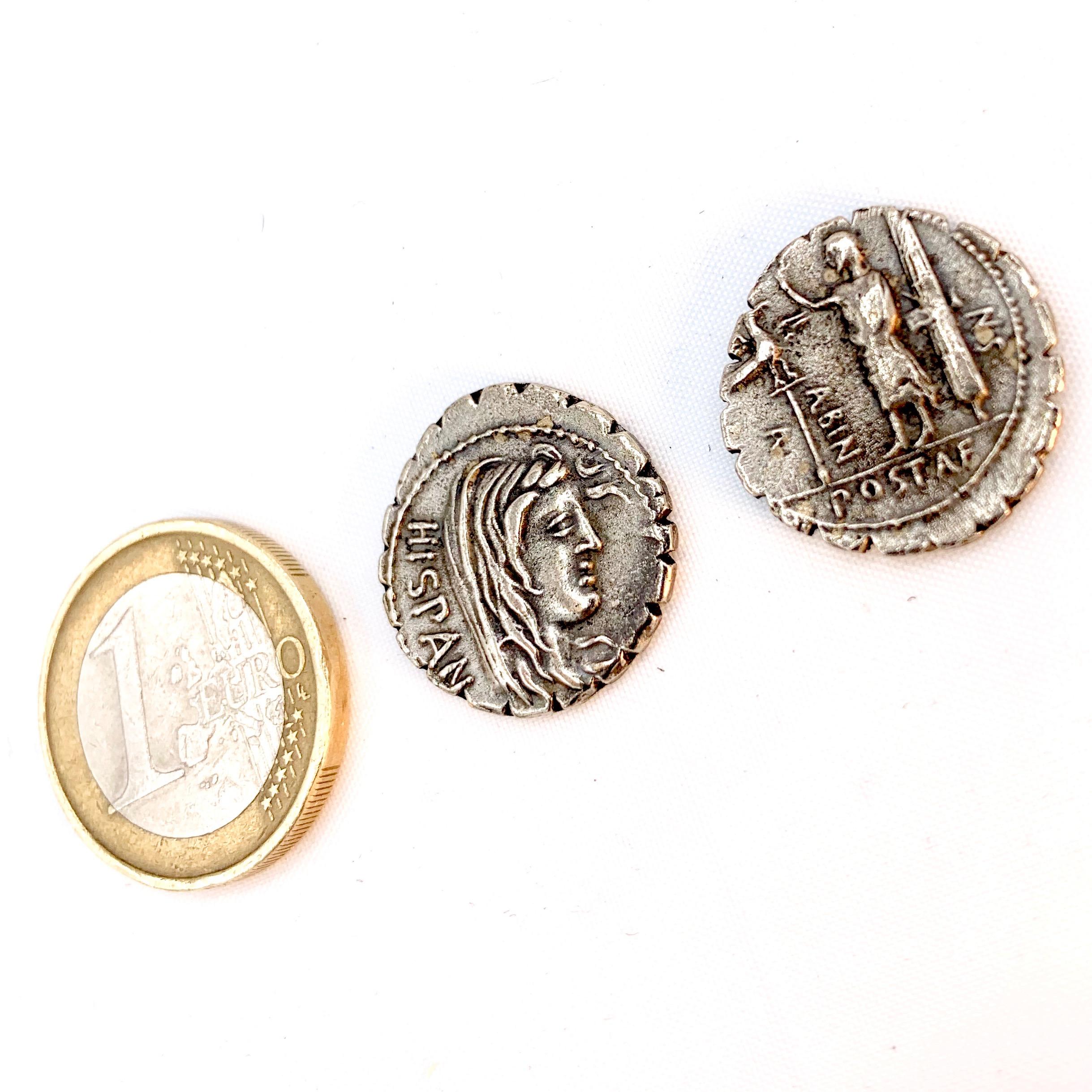 Denario Roma Hispania