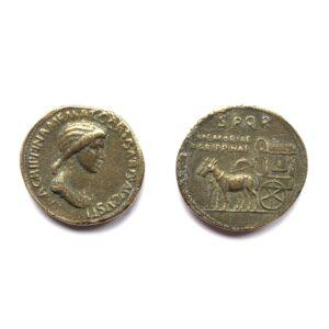 Sestercio de Agripina