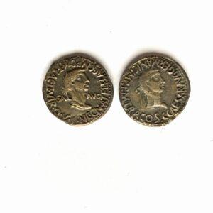 As de Cartagonova. Calígula y Cesonia